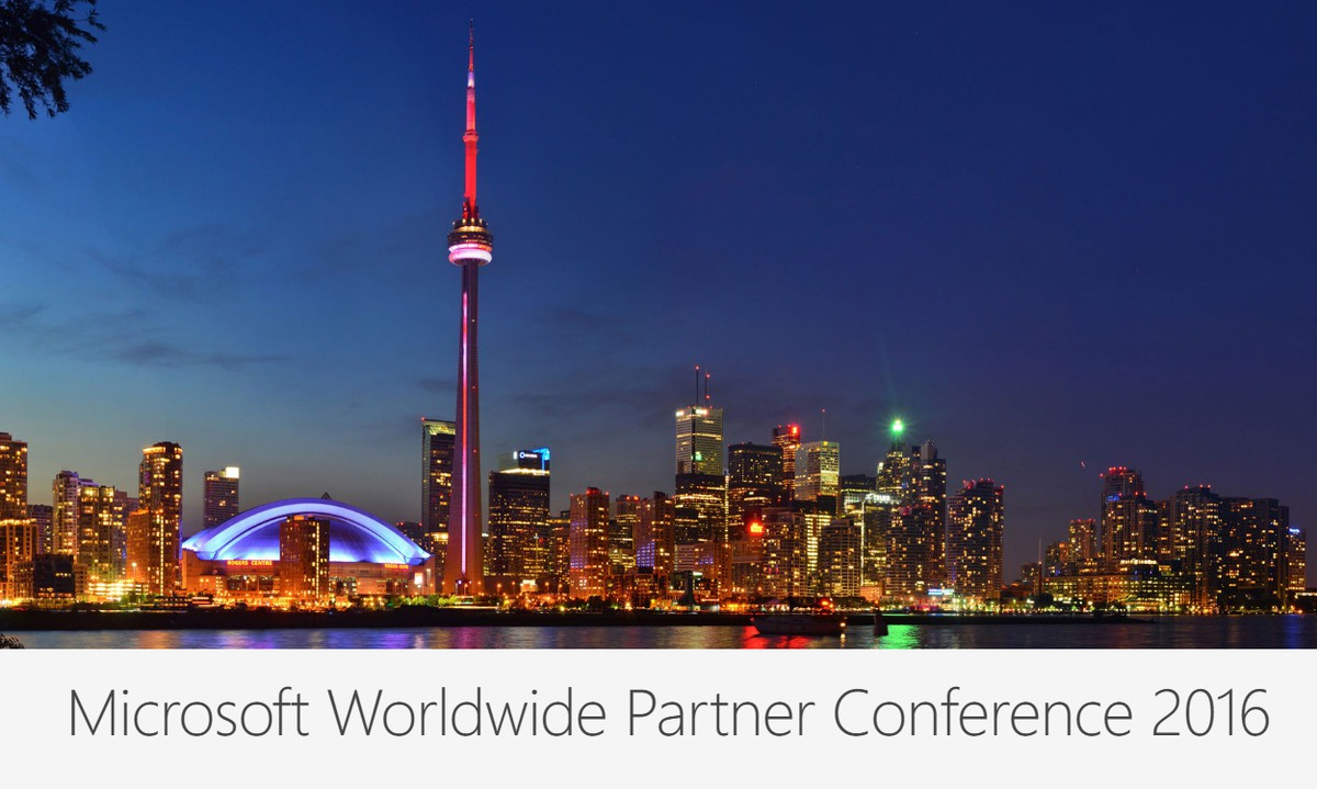 2016 Microsoft Worldwide Partner Conference | IBIZ